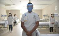 Por problemas técnicos, sólo operan 5 camas del hospital Insabi para Covid-19 de Juchitán