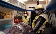 Paramédicos, el personal de primera línea en Oaxaca que aún espera la vacuna para combatir Covid-19