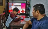 Piden diputados de Oaxaca garantizar señal de TV e internet para acceder a clases a distancia