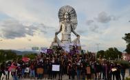 Desde las ocho regiones de Oaxaca protestan contra la violencia a la mujer este 8M