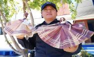 Arte en totomoxtle ayuda a una mujer policía de Oaxaca a superar la violencia familiar