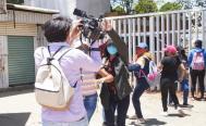 Tras agresión, asociaciones de periodistas de Oaxaca y Veracruz exigen seguridad a Murat y AMLO