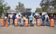 A más de 48 horas, van 62 vuelos cancelados en Aeropuerto  de Oaxaca por bloqueo de normalistas