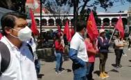 Anuncia Sol Rojo movilizaciones en Oaxaca a tres años de la desaparición del defensor Ernesto Sernas