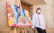 """""""Guelaguetza, ofrenda de un mismo corazón"""", obra que será imagen de las fiestas de julio en Oaxaca"""