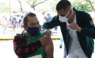 Anuncian segunda dosis de vacuna antiCovid-19 en 5 municipios conurbados a la ciudad de Oaxaca
