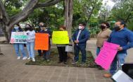 """Exigen vecinos de la ciudad de Oaxaca que cese """"devastación"""" en el Cerro del Crestón"""