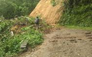 Lluvias dejan derrumbes y deslaves en carreteras de Oaxaca; Sierra Sur y Costa, las regiones más afectadas