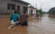 Dejan lluvias más de 2 mil 500 damnificados y 500 viviendas afectadas en el Istmo de Oaxaca