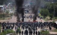 Exhorta CNDH al gobierno a saldar deuda con víctimas de desalojo en Nochixtlán