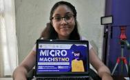 Azul Sicarú, de 14 años, representará a Oaxaca en Feria Mundial de Ciencia en Indonesia