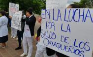 Ahora denuncian a los Servicios de Salud de Oaxaca por desabasto de 90% en insumos y medicamentos del Hospital Civil