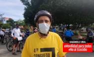 Obra de avenida Símbolos Patrios prioriza al automovilista y olvida al peatón, acusan ciclistas de Oaxaca