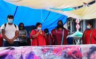 Sin retorno seguro, triquis del MULTI liberan Eje Central; toman sede del gobierno de Oaxaca en CDMX