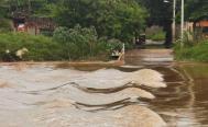 Inundaciones dejan daños en viviendas, cultivos, caminos y puentes de 17 municipios de Oaxaca