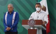 Presume Murat 25 visitas de AMLO a Oaxaca; se palpa en resultados positivos en salud y seguridad, afirma