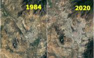 Con FOTOS satelitales, Google muestra transformación de Oaxaca de Juárez en 36 años