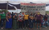 Bloquea Cocei Nueva Generación carretera en Istmo de Oaxaca, por falta de respuesta de autoridades