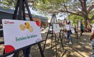 Buscan crear conciencia sobre la sana alimentación con exposición en Juchitán
