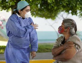 Reporta Oaxaca 805 casos de Covid-19 con potencial de contagio y 2 mil 873 muertes