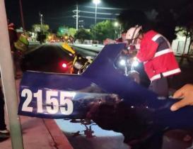 Policía vial que atropelló a repartidores de Didi está a disposición de la Fiscalía de Oaxaca