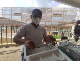 """Con este sitio, el Instituto de Acceso a la Información de Oaxaca combate las """"fake news"""" de la vacunación"""
