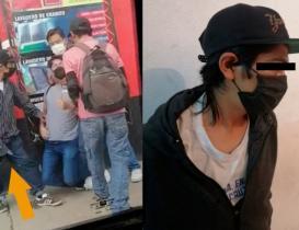 """Cae """"El Gordo"""", segundo implicado en asalto a joven """"estrangulado"""" en la Central de Abasto de Oaxaca"""