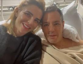 Operan de la rodilla a Alejandro Murat; informa que está en recuperación