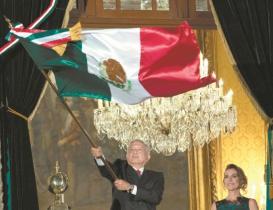 """Este es el programa de la ceremonia """"excepcional"""" del Grito de Independencia de AMLO"""