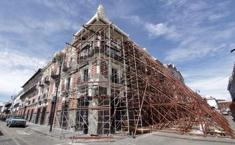 Inicia largo rescate de patrimonio cultural tras sismos