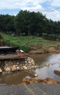 Comunidad de Tuxtepec registra 40 casas con pérdida total, por lluvias