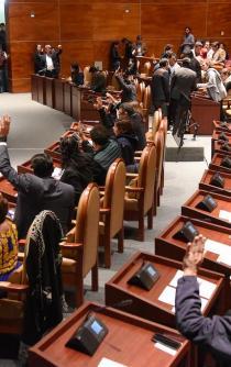 Se aumenta Congreso de Oaxaca 71% en presupuesto anual