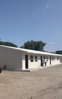 """""""Por inseguras"""", Sección 22 no usa aulas provisionales en el Istmo de Oaxaca"""