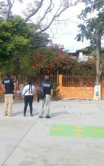 Suspenden clases en plantel de Santa Lucía por olor a gas
