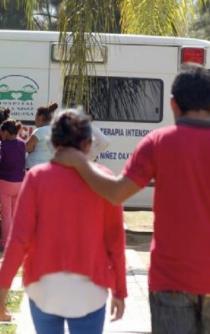 Trasladan en hermetismo a niñas heridas por desplome de helicóptero a la CDMX