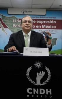 """Periodismo en México vive tiempos """"de alto riesgo"""": CNDH"""