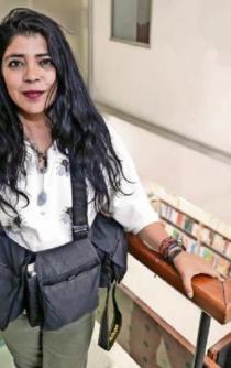 Te puede asesinar la persona con la que duermes: Frida Guerrera