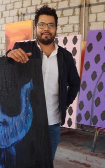 Oaxaca en el extranjero, con el pincel de Max Sanz