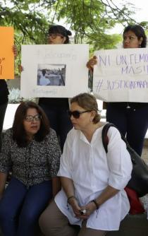 Exige Soledad Jarquín revocación de la candidatura de Hageo Montero