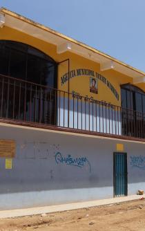 Abandonada, la Vicente Guerrero tras desalojo violento
