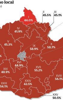 Gobernará Morena a 32% de población oaxaqueña