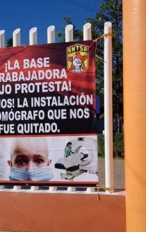 Trabajadores paran labores en Hospital de la Niñez para exigir tomógrafo