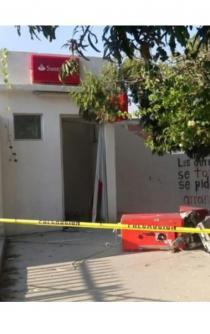 Grupo armado roba otro cajero bancario en Istmo de Oaxaca
