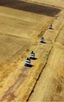 Militares protegen los ductos por tierra y aire
