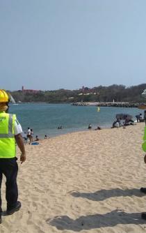 Vacaciones de Semana Santa arrojan 2 muertos y 18 rescatados