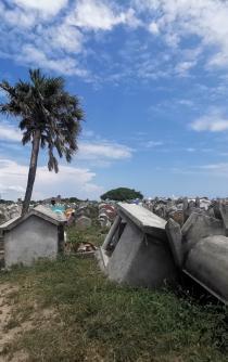 Huaves: sin agua potable ni servicios a 2 años del 7-S