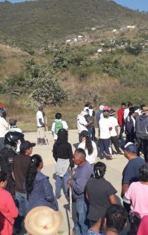 Presentan queja pobladores de Xoxocotlán ante DDHPO; reitera medidas cautelares