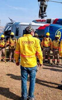 Suben a 9 las víctimas de incendio forestal de la Mixteca; pobladores piden víveres y apoyo para deudos