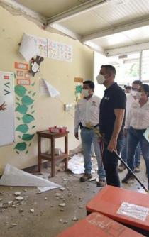Brigadas técnicas evaluarán daños a viviendas tras sismo; ninguna familia quedará fuera del censo: Murat
