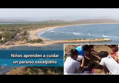 Ecoescuelas: Niños aprenden a proteger Chacahua